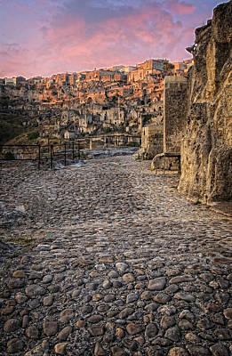 Basilicata Photograph - Sassi Street by Michael Avory