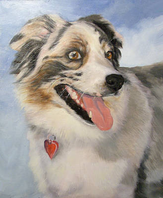 Shephard Painting - Sassy by Mary Buergin