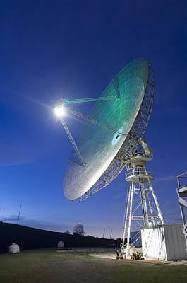 Satellite Tracking Antenna Dish Art Print by Everett