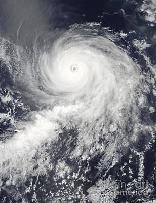 State Love Nancy Ingersoll - Satellite View Of Hurricane Eugene by Stocktrek Images