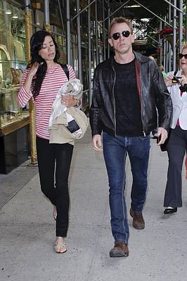 Celebrity Candids - Monday Photograph - Satsuki Mitchell, Daniel Craig, Walk by Everett