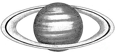 Photograph - Saturn, 19th Century by Granger