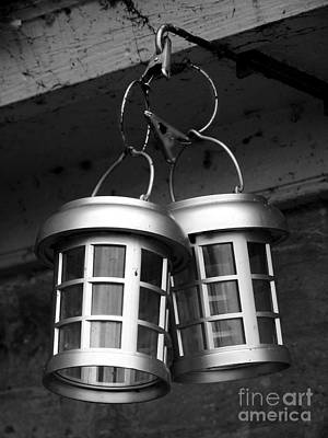 Photograph - Saugerties Lighthouse Lanterns Photograph by Kristen Fox