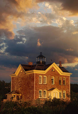 Saugerties Ny Lighthouse Art Print by Skip Willits