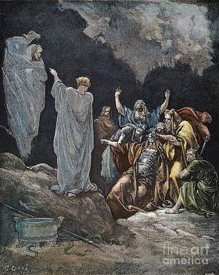 Drawing - Saul by Gustave Dore