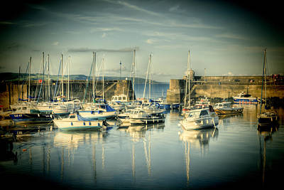 Autumn Pies - Saundersfoot Boats Lomo by Steve Purnell