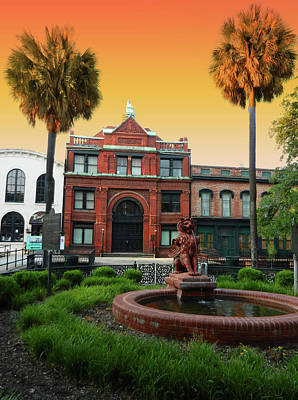 Photograph - Savannah Cotton Exchange by Paul Mashburn
