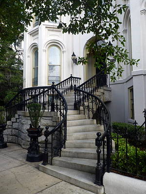 South Photograph - Savannah Stairway by Carla Parris