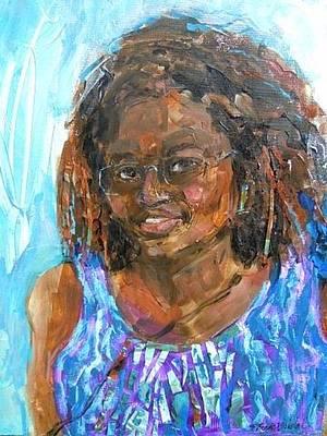 Painting - Savannah Visited by Rhonda Bristol