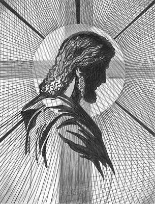 Saviour Art Print by Peter Olsen