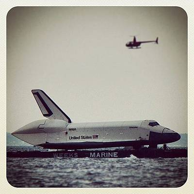 Helicopter Photograph - Saw Enterprise Shuttle 😁 by Zyrus Zarate