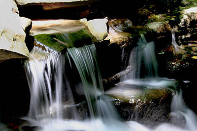 Photograph - Saw Mill Falls by Van Corey