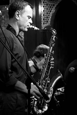 Music Photograph - Sax II by Jim Perpetos