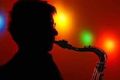 Photograph - Sax Light by Ed Lukas