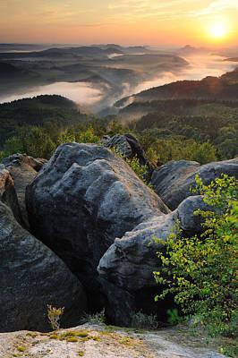 Y120817 Photograph - Saxon Switzerland by Stefan Mendelsohn