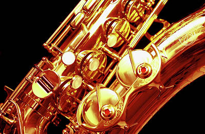 Saxophone Photograph - Saxophone, Close-up by Medioimages/Photodisc