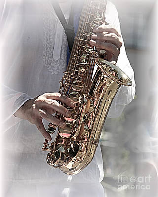 Photograph - Saxophone by Danuta Bennett