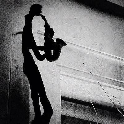 Musicians Photograph - Saxophone by Natasha Marco