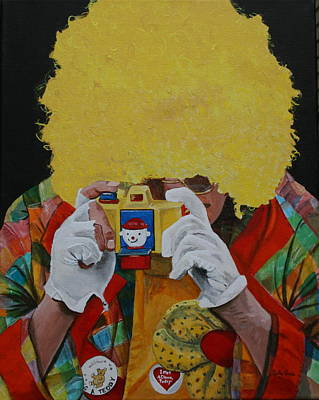 Painting - Say Cheese by Betty-Anne McDonald