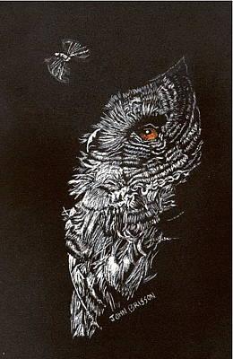 Drawing - Say Goodnight by John Brisson