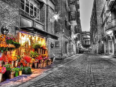 Say It With Flowers - Hdr Art Print by Colin J Williams Photography