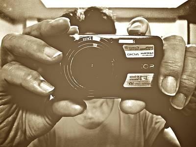 Kornrawiee Photograph - Says Cheese... by Kornrawiee Miu Miu