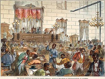 Sc: Legislature, 1876 Art Print by Granger