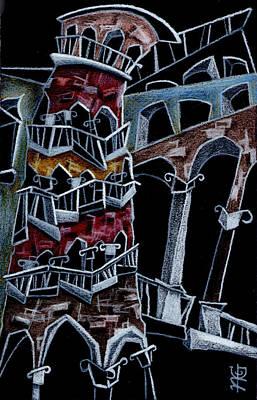 Scala Del Bovolo Art Print by Arte Venezia
