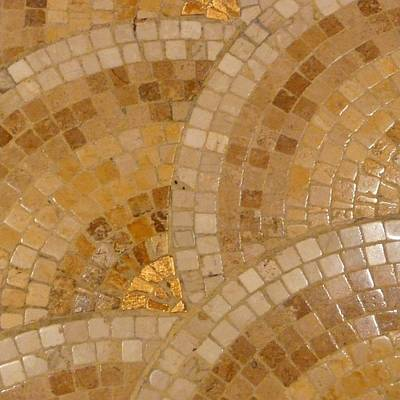 Scallop Copper Original by Florene Welebny