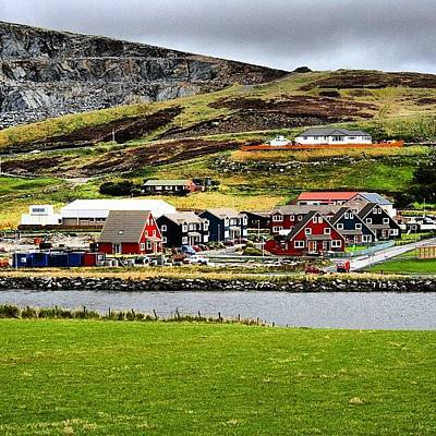 #scalloway #shetland Islands Art Print