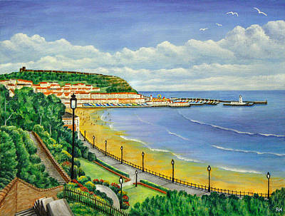 Scarborough Painting - Scarborough by Ronald Haber