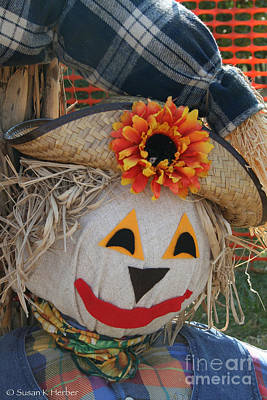 Photograph - Scarecrow Annie by Susan Herber