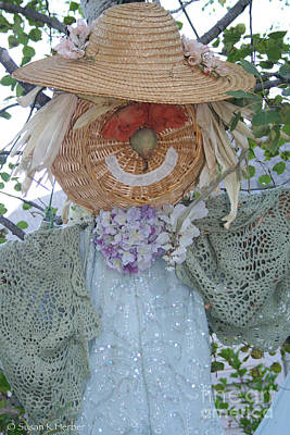 Photograph - Scarecrow Grandmother by Susan Herber