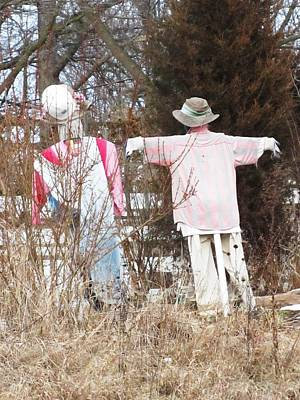 Photograph - Scarecrows by Todd Sherlock