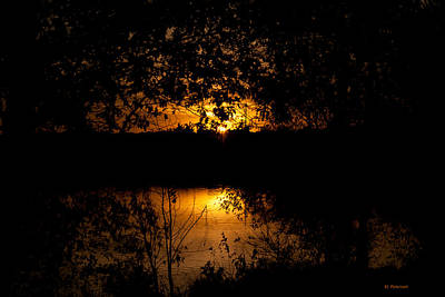 Photograph - Scary Sunset by Edward Peterson
