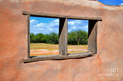 Outlook Photograph - Scene From A Priests Window by Donna Greene