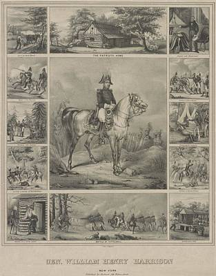 Scenes From The Life Of 1840 Whig Art Print