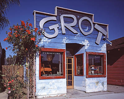 Scenes Of Los Angeles, Grot, A Small Art Print