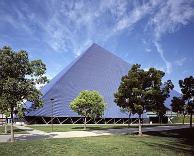 Scenes Of Los Angeles, The Pyramid Art Print