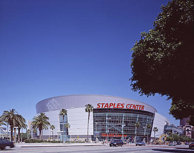 Staples Center Photograph - Scenes Of Los Angeles, The Staples by Everett