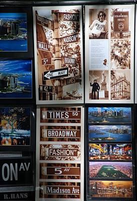 Scenes Of New York Art Print by Rob Hans