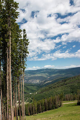 Photograph - Scenic Colorado Mountains Near Beaver Lake by James Woody