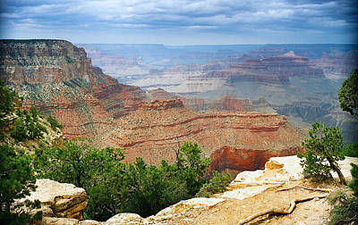 Grand Canyon Photograph - Scenic Grand Canyon 22 by M K  Miller