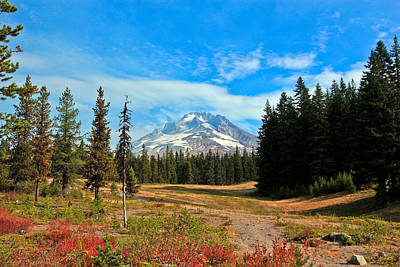 Photograph - Scenic Mt. Hood In Oregon by Athena Mckinzie