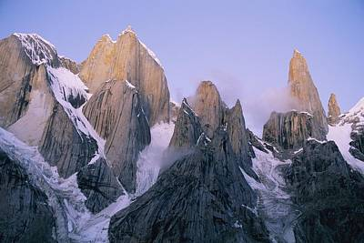 Natural Forces Photograph - Scenic, Pakistan.  The Trango Group by Bill Hatcher