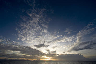 Malapascua Island Photograph - Scenic Sunset Over Malapascua Island by Tim Laman