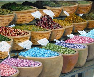 Painting - Scents For The Senses by Laurie Morgan