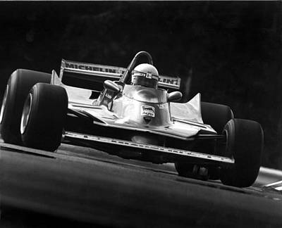 Longines Photograph - Scheckter Turn Nine by Mike Flynn