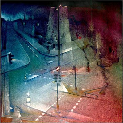 Pastel - Schinkelstrasse 1980 by Glenn Bautista