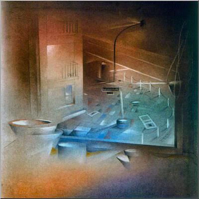 Pastel - Schinkelstrasse2 1980 by Glenn Bautista